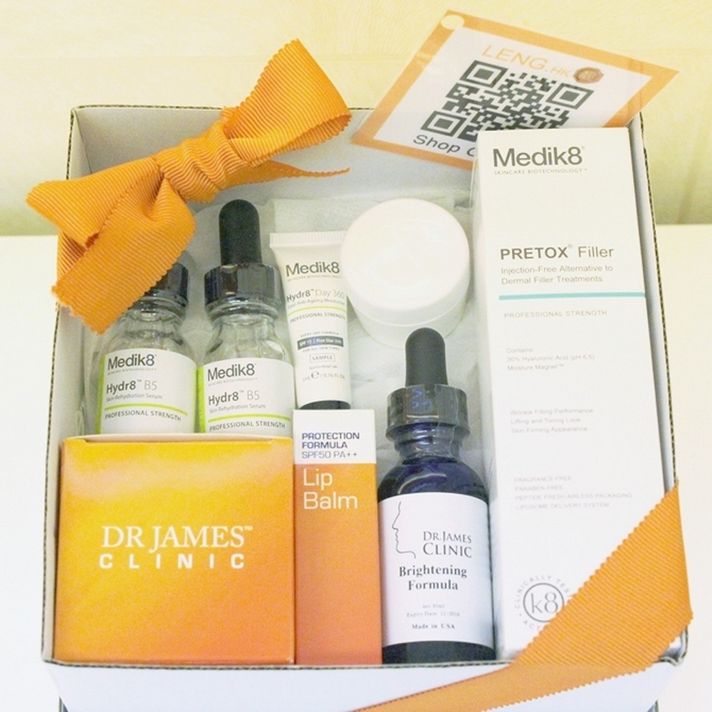 Dr James Clinic- Brightening Moisture Set